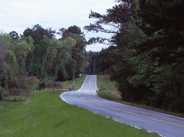 Route 77 View, photographed by Jeff Zablow at Hancock County, GA