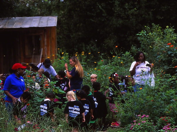 "Head Start Class, photographed by Jeff Zablow at ""Butterflies and Blooms in the Briar Patch,"" Eatonton, GA"