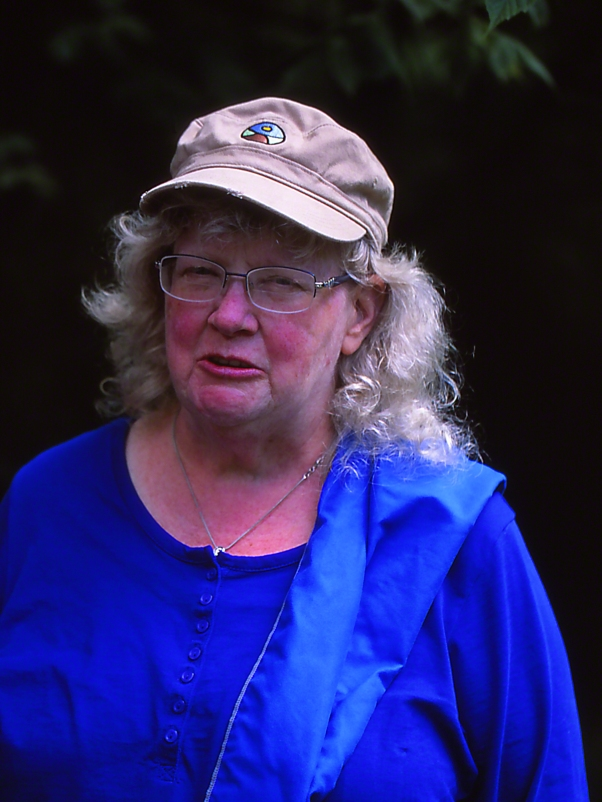 Barbara Ann Case photographed by Jeff Zablow at Cedar Bog, Ohio