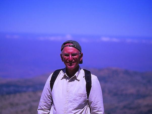 Jeff Zablow on Peak of Mt. Hermon Israel